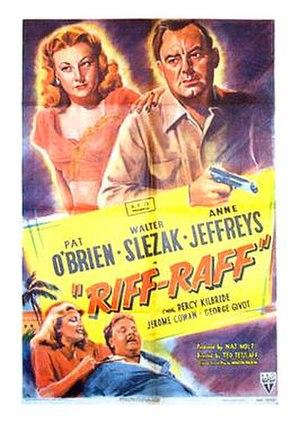 Riffraff (1947 film) - Movie poster