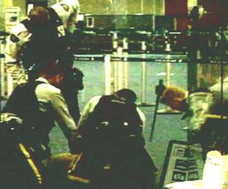 Robert Dziekański Taser incident - RCMP officers taser a handcuffed and pinned Dziekański minutes before his death at YVR