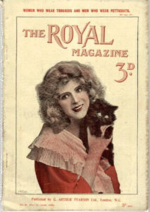 The Royal Magazine - Copy of the cover of the June 1898 issue of The Royal Magazine.