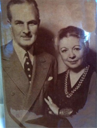 Florence Ryerson - Florence Ryerson and Colin Clements (c. 1948).
