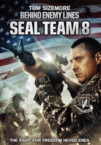 SEAL Team 8: Behind Enemy Lines - DVD cover