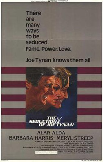 The Seduction of Joe Tynan - Theatrical release poster