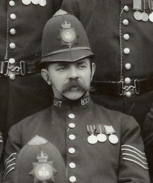Epsom Riot - Station-Sergeant Thomas Green, killed in the Epsom Riot of 1919