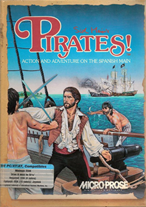 Sid Meier's Pirates! - Image: Sid Meier's Pirates! (1987) Coverart