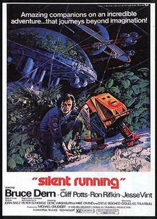 <i>Silent Running</i> 1972 science fiction movie directed by Douglas Trumbull