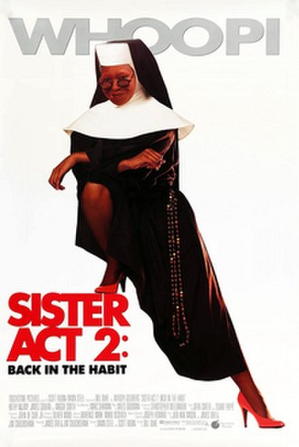 Sister Act 2: Back in the Habit - Theatrical release poster