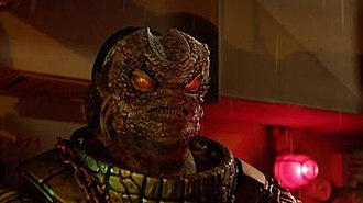 Cold War (Doctor Who) - Skaldak reveals his true appearance. A first for the series, the revelation was crucial to the writing of the episode, and received positive reception.