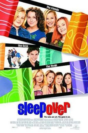 Sleepover (film) - Theatrical release poster