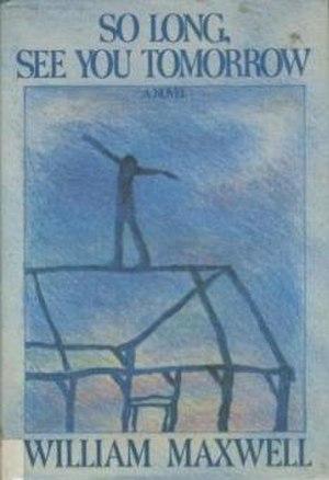 So Long, See You Tomorrow (novel) - Image: So Long See You Tomorrow