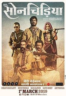 <i>Sonchiriya</i> 2019 Indian film directed by Abhishek Chaubey