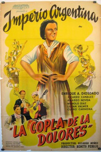 Song of Dolores - Film poster