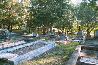 South Brisbane Cemetery - South Brisbane Cemetery
