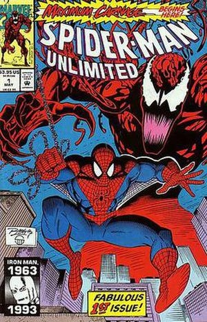 Spider-Man Unlimited (comics) - Image: Spideyunlimited 1