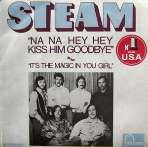 Na Na Hey Hey Kiss Him Goodbye - Image: Steam NNHHKHG