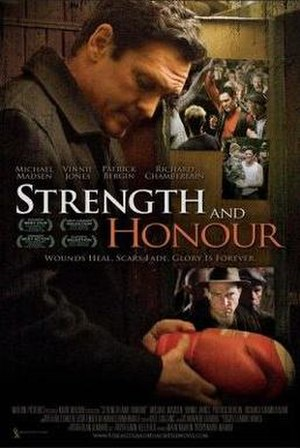 Strength and Honour - Theatrical release poster