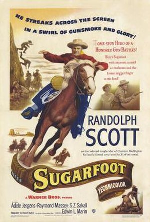 Sugarfoot (film) - Movie poster