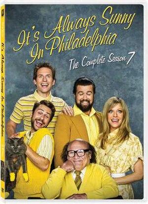 It's Always Sunny in Philadelphia (season 7) - DVD cover