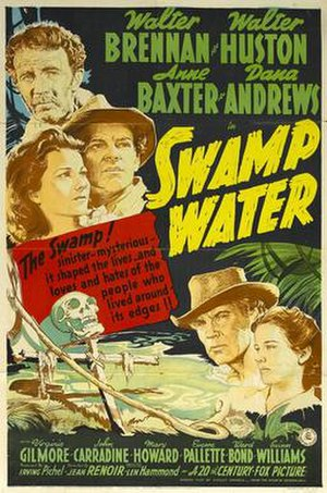 Swamp Water - Theatrical poster