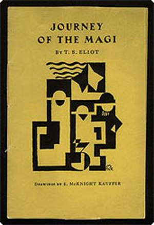 Journey of the Magi - The cover of the poem's first publication, Faber & Gwyer's 1927 pamphlet