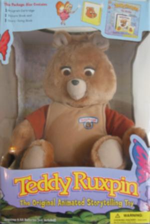Teddy Ruxpin - Image: Teddy ruxpin Backpack