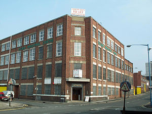 Telsen electric company ltd wikipedia the telsen factory in aston birmingham in 2001 malvernweather Image collections