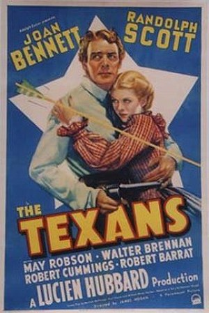 The Texans - Theatrical poster