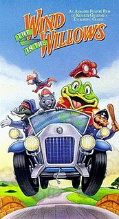 <i>The Wind in the Willows</i> (1987 film) 1987 American animated musical TV film adaptation