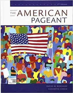 <i>The American Pageant</i> textbook of United States history