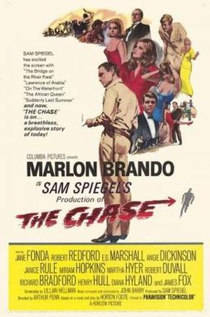 The Chase (1966 film) - Original film poster by Howard Terpning