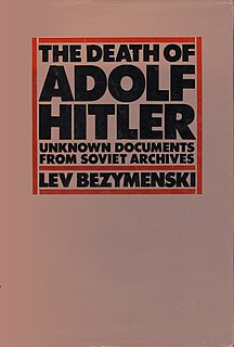 <i>The Death of Adolf Hitler</i>