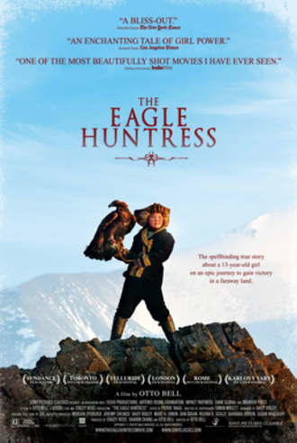 The Eagle Huntress - Theatrical release poster