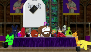 The Greatest Story Ever Told (Aqua Teen Hunger Force Forever) - Image: The Greatest Story Ever Told
