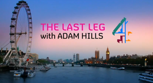The Last Leg - Original logo (with original title) used during the first series