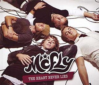 The Heart Never Lies 2007 single by McFly