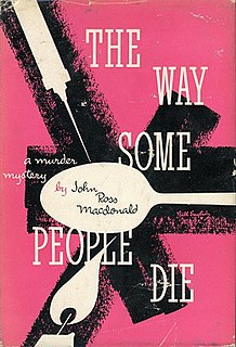 <i>The Way Some People Die</i> book by Ross Macdonald