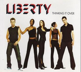 Thinking It Over (song) 2001 single by Liberty X