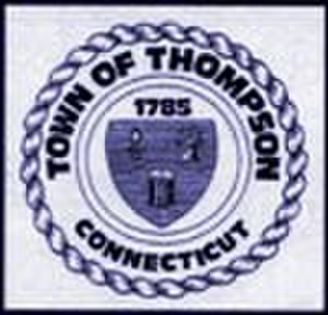 Thompson, Connecticut - Image: Thompson C Tseal