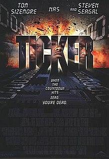 <i>Ticker</i> (2001 film) 2001 film by Albert Pyun