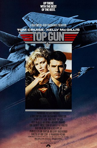 Top Gun - Theatrical release poster