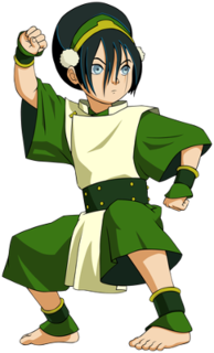 Toph Beifong fictional character in Avatar: The Last Airbender