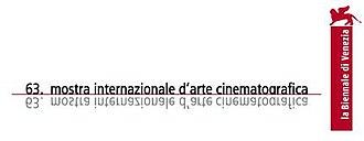 63rd Venice International Film Festival - Festival poster