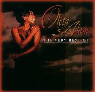 <i>The Very Best of Oleta Adams</i> 1996 greatest hits album by Oleta Adams