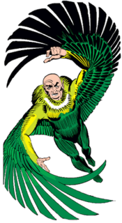 Vulture (Marvel Comics) supervillain appearing in Marvel Comics publications and related media