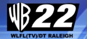 WLFL - Former logo as a WB affiliate, used from 1998 to 2006.