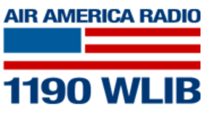 WLIB - former WLIB logo, as an Air America Radio affiliate