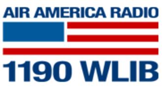 WLIB - former WLIB logo, as an Air America Radio affiliate