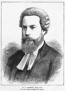 William Thomas Charley British politician