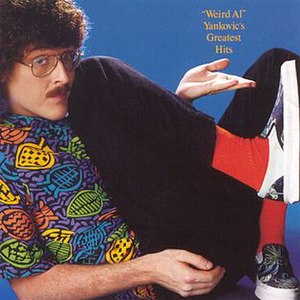 """Weird Al"" Yankovic's Greatest Hits - Image: Weird Al Yankovic Greatest Hits Volume I"