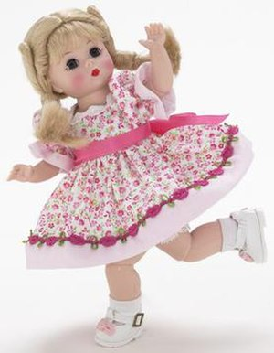 Madame Alexander's Wendy doll, from the 2004 T...