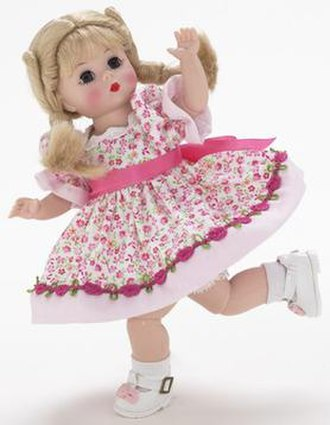Alexander Doll Company - Madame Alexander's Wendy doll, from the 2004 Total Moves collection